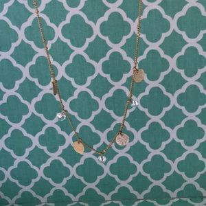 Francesca's Collections Jewelry - circle charm necklace
